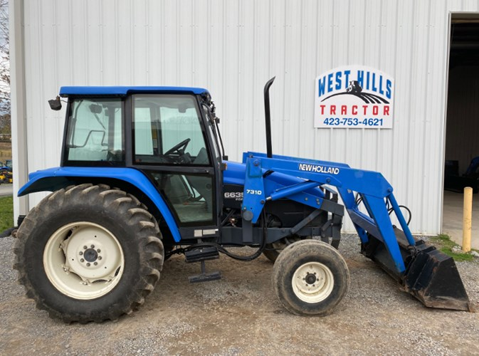 1997 New Holland 6635 Tractor For Sale