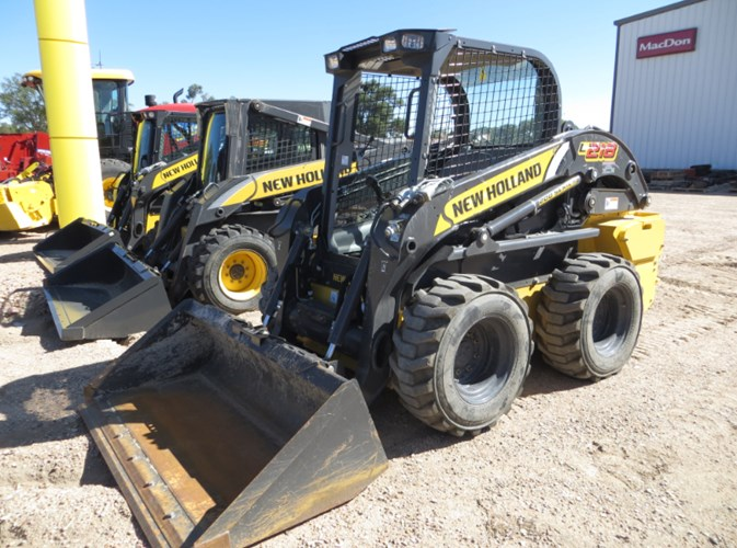 2017 New Holland L218 Skid Steer For Sale