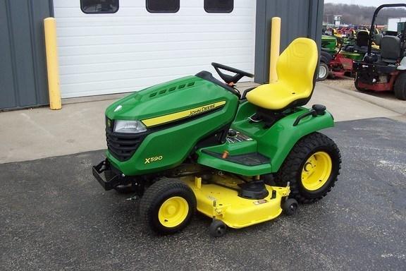 2019 John Deere X590 Riding Mower For Sale