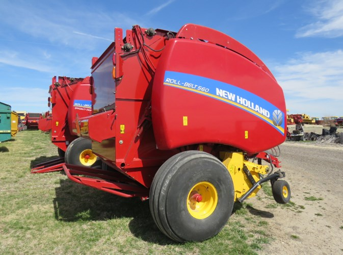 2016 New Holland 560RB Baler-Round For Sale