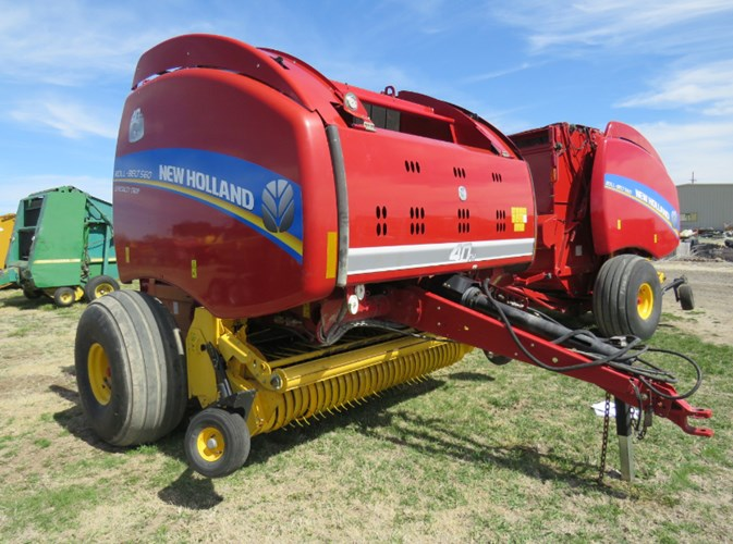 2015 New Holland 560RB Baler-Round For Sale
