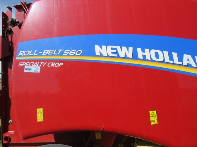 2017 New Holland 560RB Baler-Round For Sale