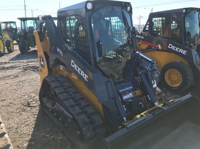 2020 John Deere 317G Skid Steer-Track For Sale