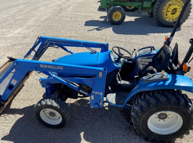2004 New Holland Tc33da Tractor For Sale 187 Rusler