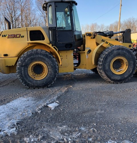 New Holland W190B Wheel Loader For Sale