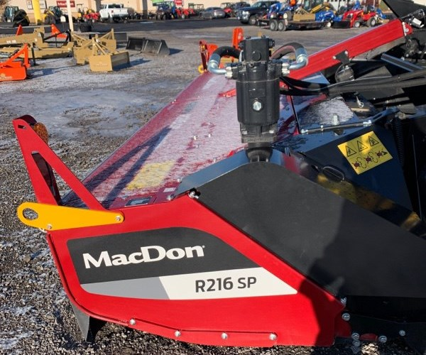 2020 MacDon R216 Windrower-Self Propelled For Sale