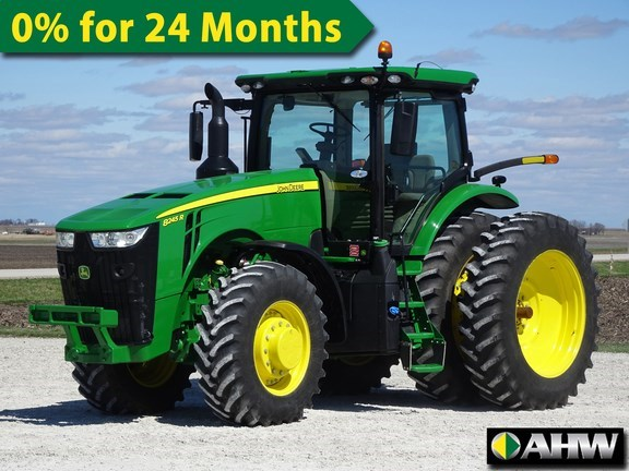 2019 John Deere 8245R Tractor - Row Crop For Sale