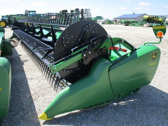 2019 John Deere 740FD Header-Draper/Flex For Sale