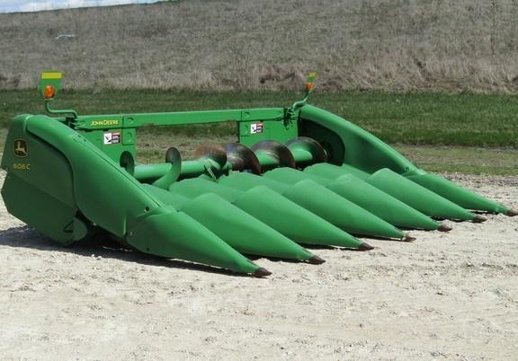 2012 John Deere 606C Header-Corn For Sale