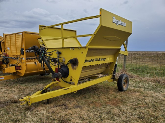 Bale King 3100 Bale Processor For Sale