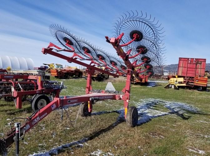 2008 Bush Hog BSR Hay Rake-Unitized V Wheel For Sale
