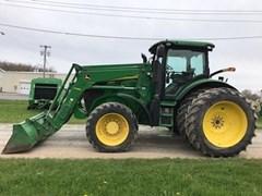 Tractor - Row Crop For Sale 2012 John Deere 7215R , 215 HP
