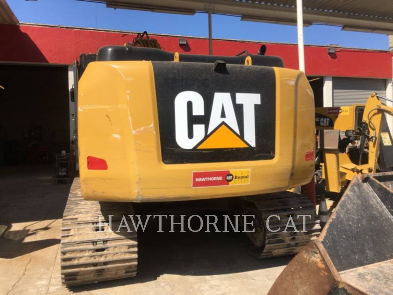2016 Caterpillar 323F Image 5