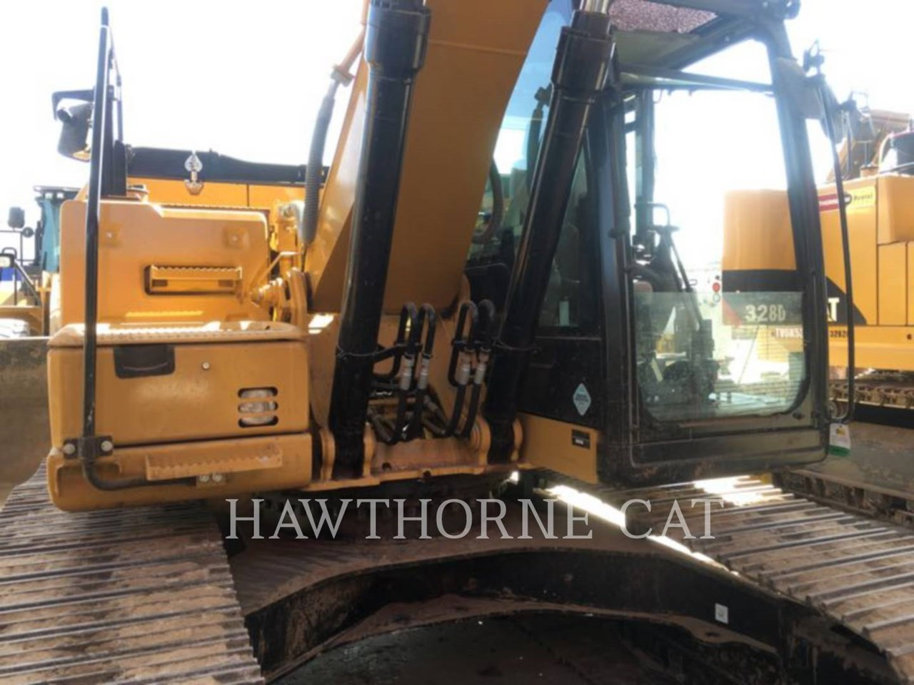 2016 Caterpillar 323F Image 6