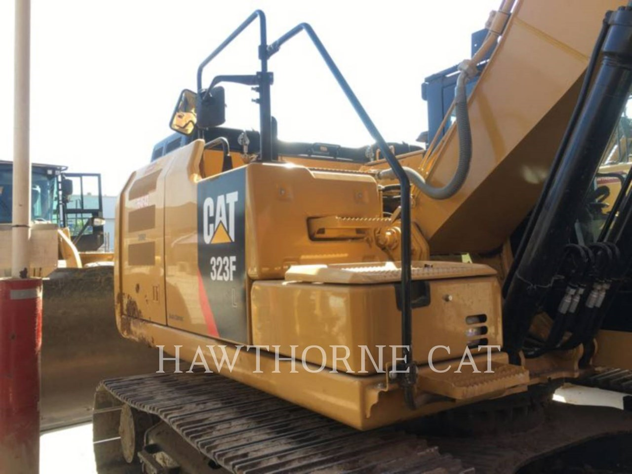 2016 Caterpillar 323F Image 8