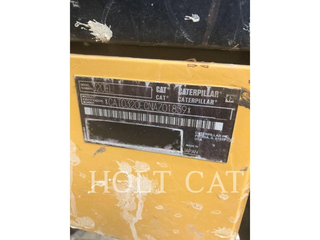2015 Caterpillar 320EL TC Image 5