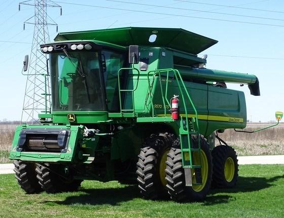 2008 John Deere 9570 STS Combine For Sale