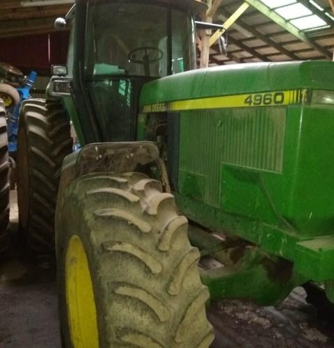 John Deere 4960 Tractor For Sale
