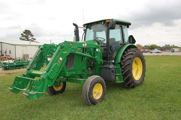 2016 John Deere 6105E Tractor - Utility For Sale