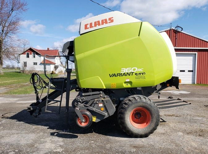2017 CLAAS Variant 360 Baler-Round For Sale