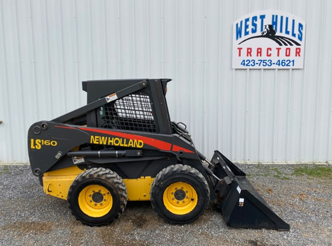 2005 New Holland LS160 Skid Steer For Sale
