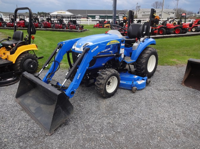 2012 New Holland Boomer 25 Tractor - Compact Utility For Sale
