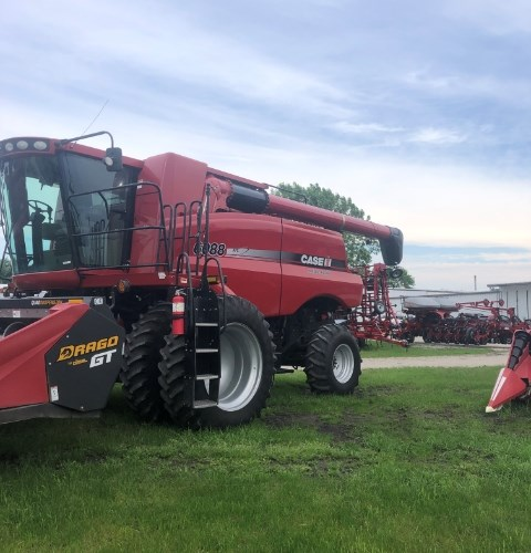 2009 Case IH 6088 Combine For Sale
