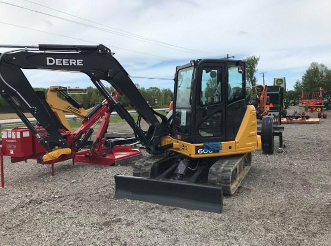 2020 John Deere 60G Excavator-Track For Sale