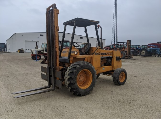 Case 584C Lift Truck/Fork Lift-Industrial For Sale