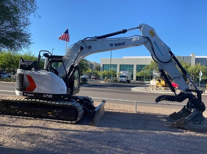 Bobcat E145 Excavator-Track