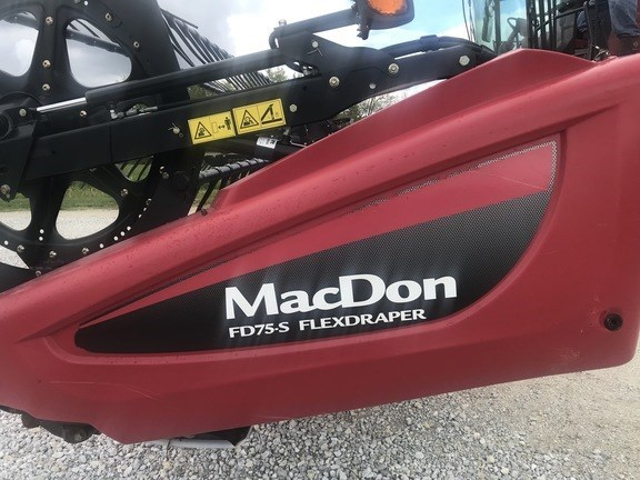 2015 MacDon FD75-40 Header-Draper/Flex For Sale