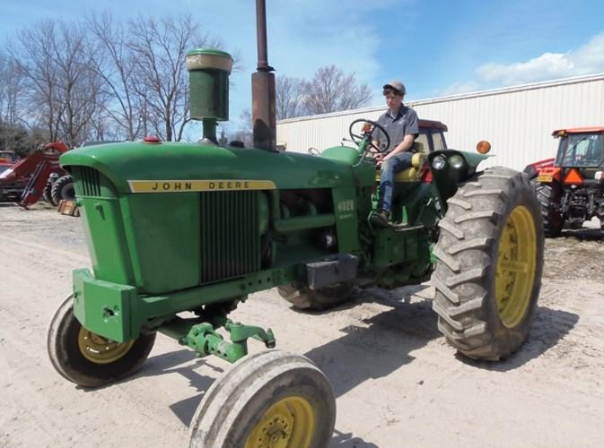 John Deere 4020 Tractor For Sale