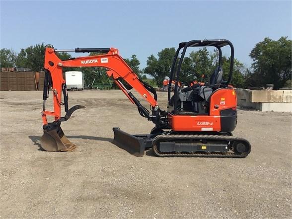 2018 Kubota U35-4 Excavator-Mini For Sale
