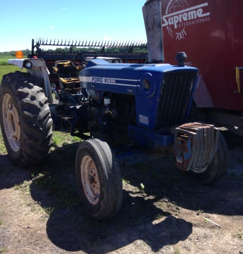 Ford 5600 Tractor For Sale