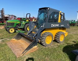 Skid Steer For Sale: 2016 John Deere 320E, 69 HP