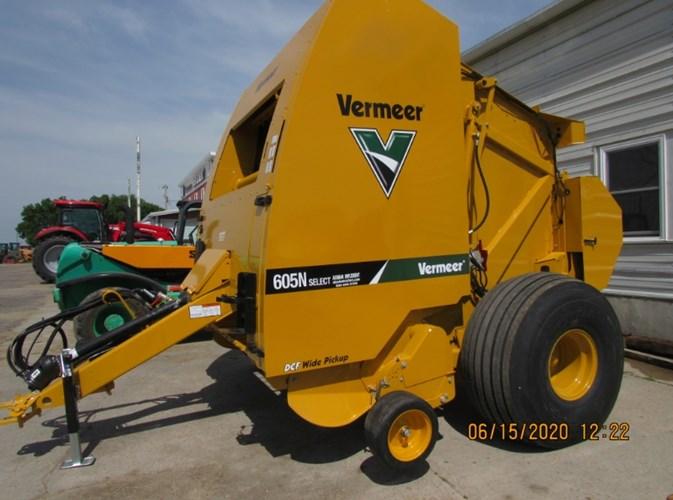 2020 Vermeer 605N Baler-Round For Sale