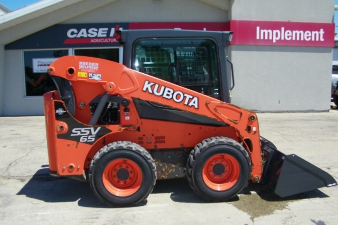 2018 Kubota SSV65HRC Skid Steer For Sale
