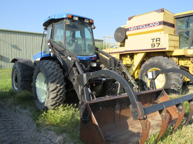 2010 New Holland TV 6070 Tractor For Sale