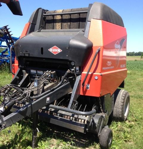 2014 Kuhn VB2160 Baler-Round For Sale