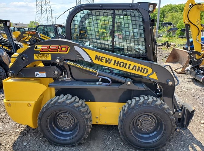 2019 New Holland L220 Skid Steer For Sale