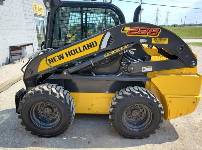 2019 New Holland L228 Skid Steer For Sale