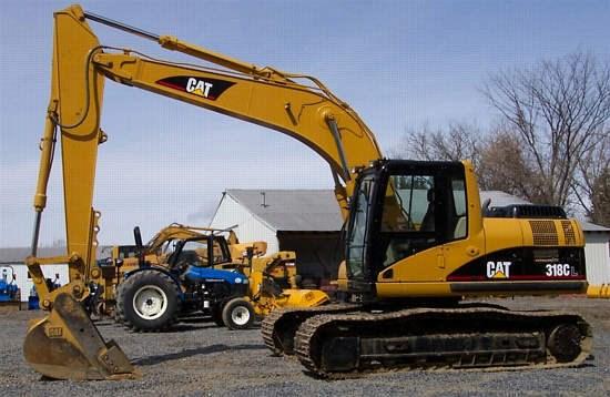 2003 Caterpillar 318C Image 1