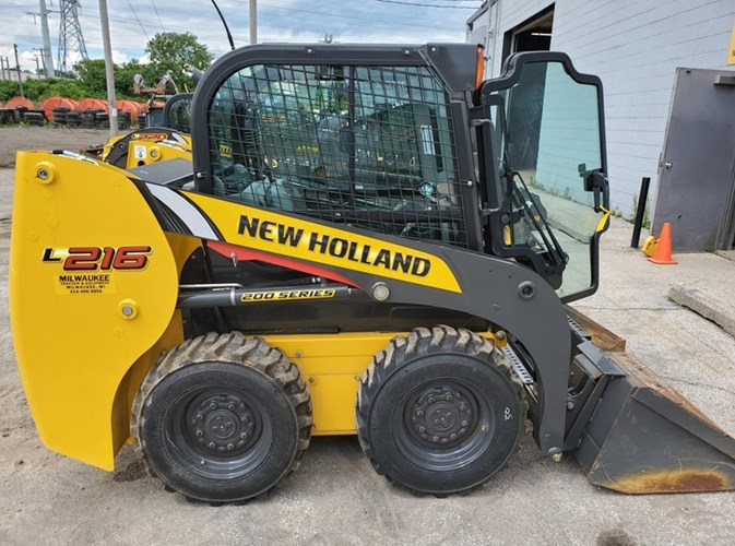 2018 New Holland L216 Skid Steer For Sale