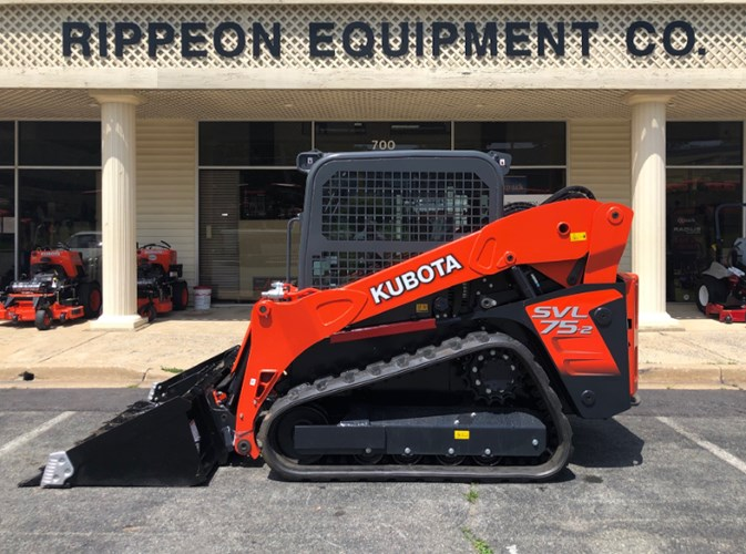 Kubota SVL75-2HWC Skid Steer-Track For Sale