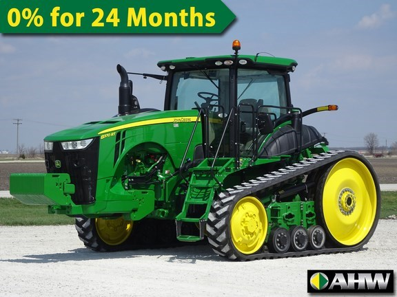 2016 John Deere 8370RT Tractor - Track For Sale