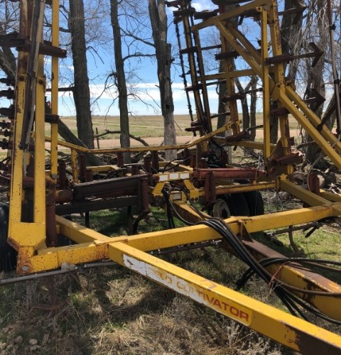 1983 Kent 6327 Field Cultivator For Sale
