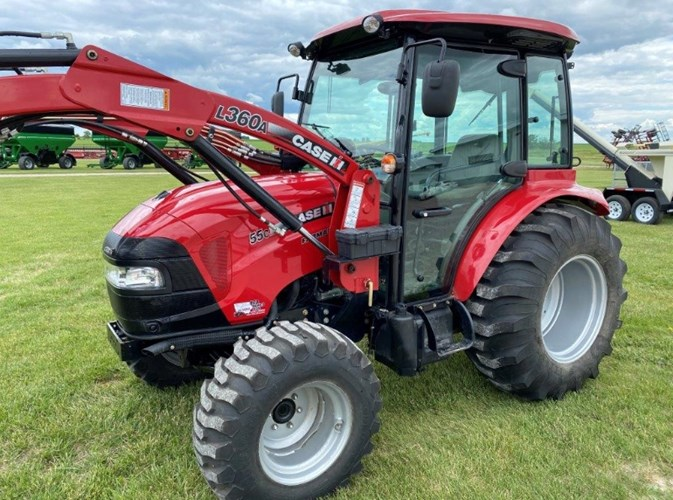 2017 Case IH FARMALL 55C Tractor For Sale