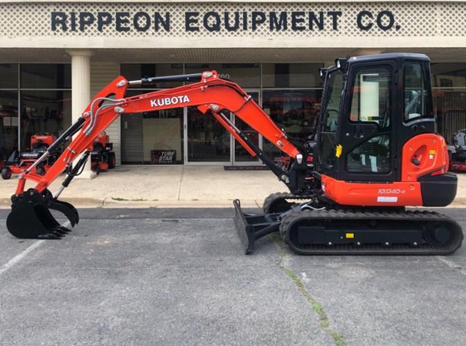Kubota KX040-4R3P Excavator-Track For Sale
