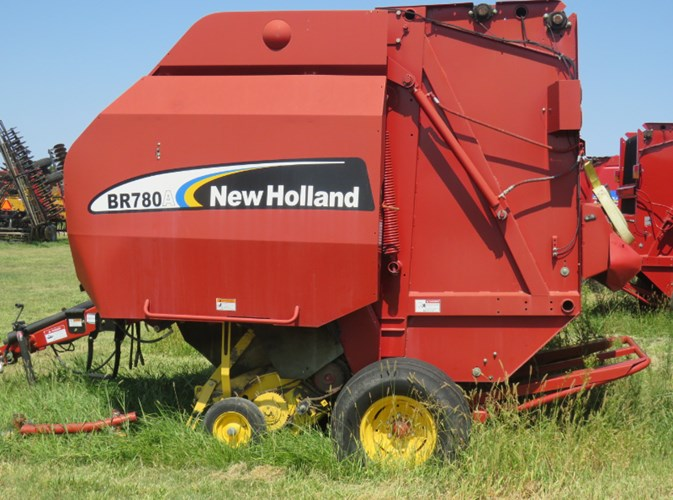 2008 New Holland BR780A Baler-Round For Sale