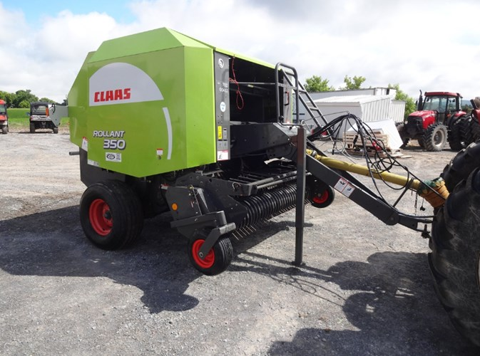 2009 CLAAS Rollant 350 Baler-Round For Sale